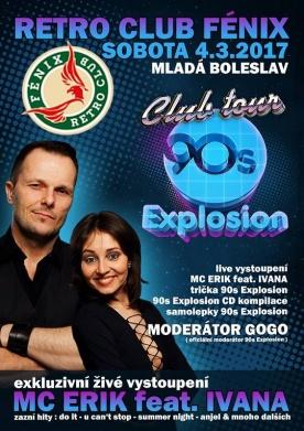 90's Explosion club tour začíná!