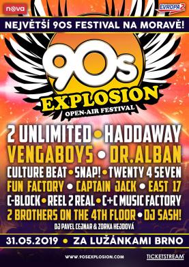 Největší 90's festival v Evropě!